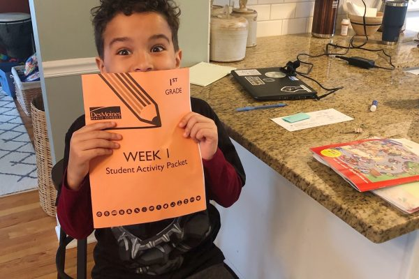 Hillis Students Work From Home